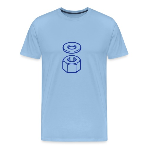 Nut and washer - Men's Premium T-Shirt