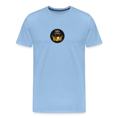 Logo Crown round - Männer Premium T-Shirt