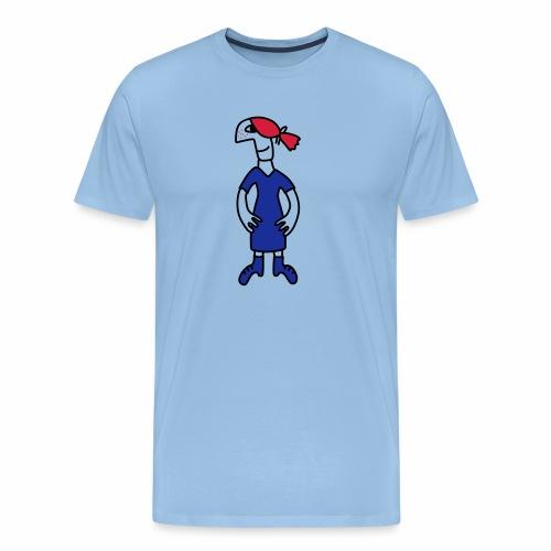 Little red head girl - Men's Premium T-Shirt