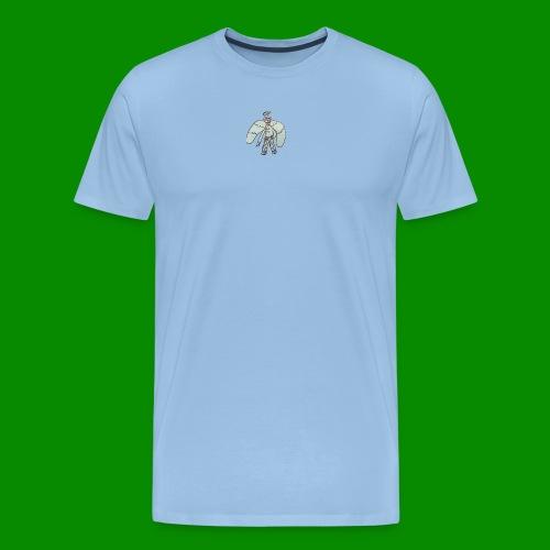 Angel Doodle - Premium-T-shirt herr