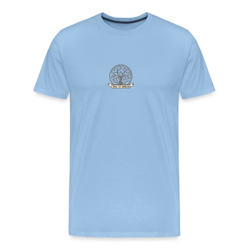 TOS grey tiny 3in png - Men's Premium T-Shirt