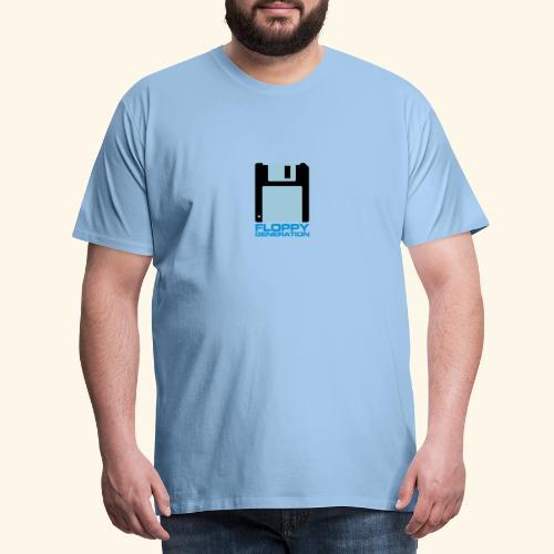 Floppy Generation 3.5 - Premium-T-shirt herr
