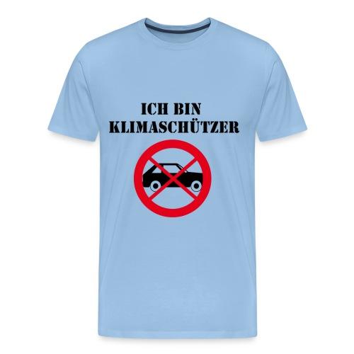 Ich bin Klimaschützer - Männer Premium T-Shirt