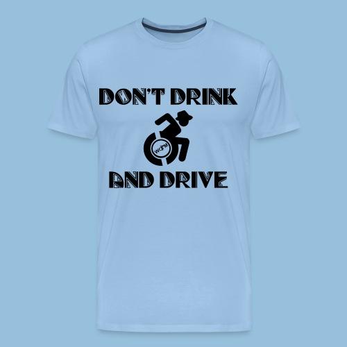 DrinkDrive3 - Mannen Premium T-shirt
