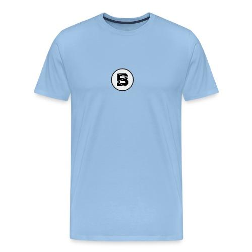 T-Shirt mit B Logo - Männer Premium T-Shirt