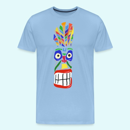 Voodoo Marterpfahl - Männer Premium T-Shirt