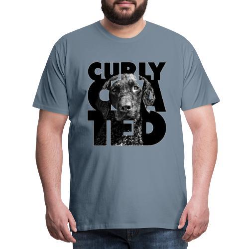 Curly Coated II - Miesten premium t-paita