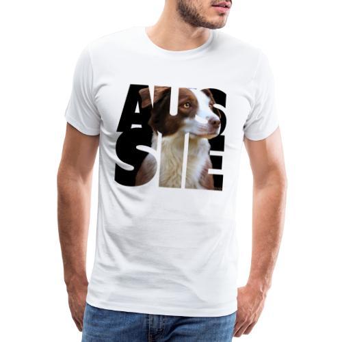 Aussie II - Miesten premium t-paita