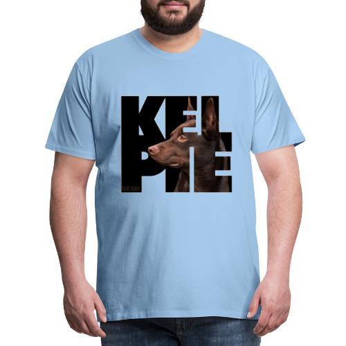 Kelpie II - Miesten premium t-paita