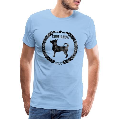 Chihuahua Army Black - Miesten premium t-paita