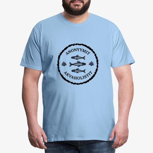Anonyymit Akvaholistit II - Miesten premium t-paita