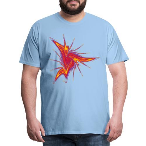 Rascal Starfish Sea Urchin Marine Animals 2953bry - Men's Premium T-Shirt