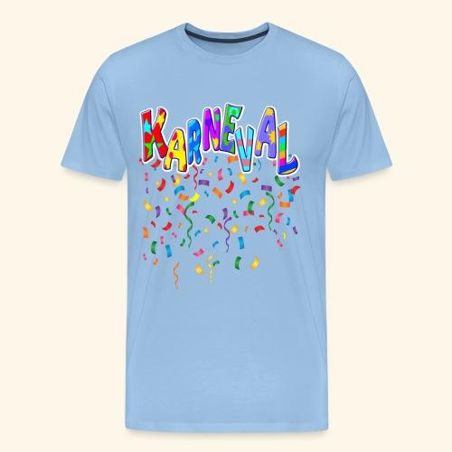 Karneval & Fasching Spaß Alt und Jung Party Shirt - Männer Premium T-Shirt