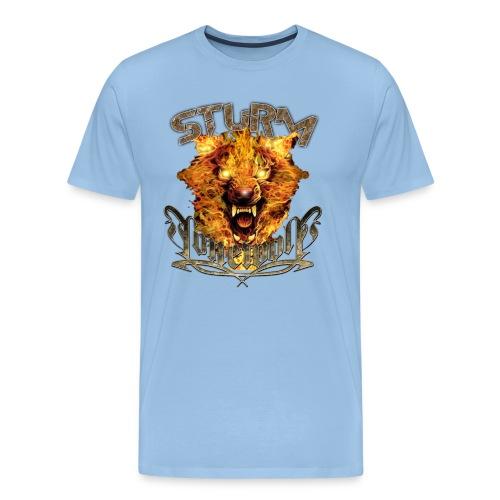 sturmshirtdesignorange - Männer Premium T-Shirt