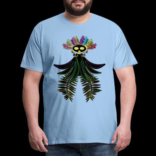 L'oiseau paradis néon - T-shirt Premium Homme