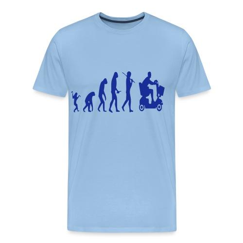 Scootmobielevolution - Mannen Premium T-shirt