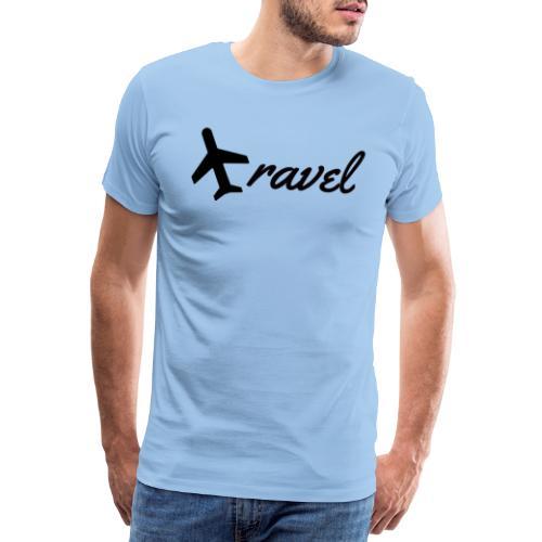 FLUGZEUG RAVEL - Männer Premium T-Shirt