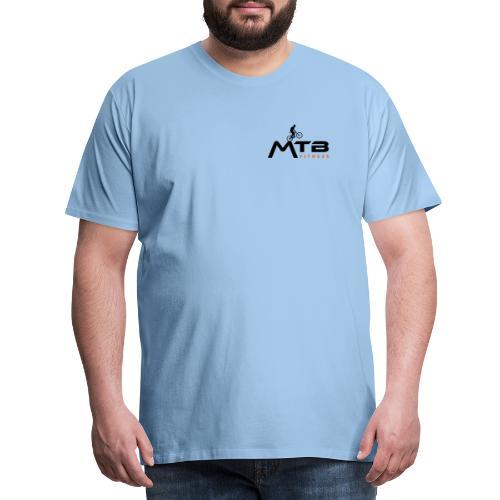 Subtle MTB Fitness - Black Logo - Men's Premium T-Shirt