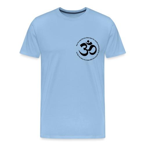 Om Zeichen mit Mantra - Männer Premium T-Shirt