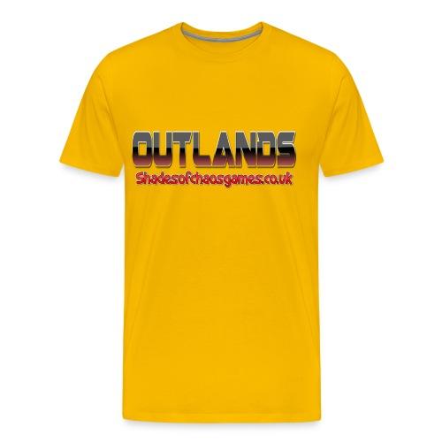 OUTLANDSRED png - Men's Premium T-Shirt