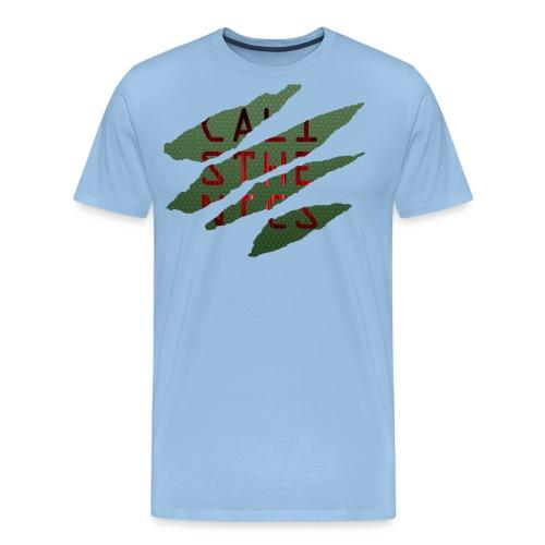 Cali Risse png - Männer Premium T-Shirt