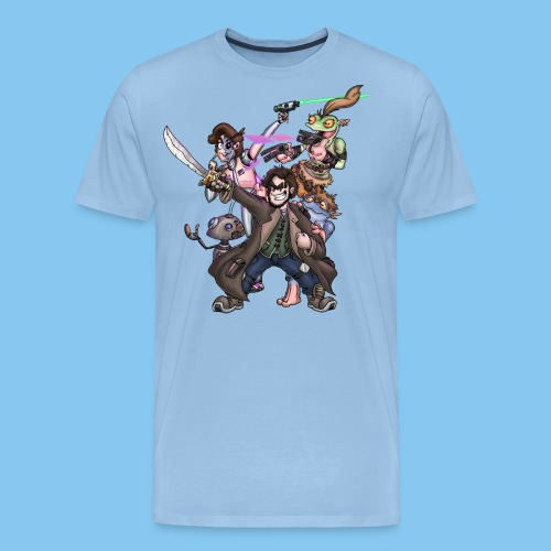 THE SQUAD png - Men's Premium T-Shirt