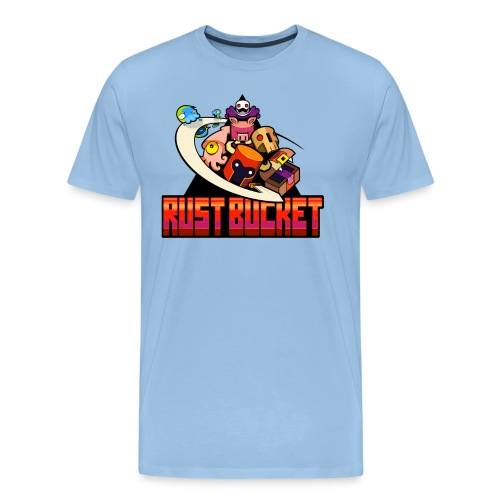 rustbucket png - Men's Premium T-Shirt