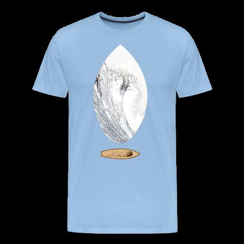 maverick surf - Camiseta premium hombre