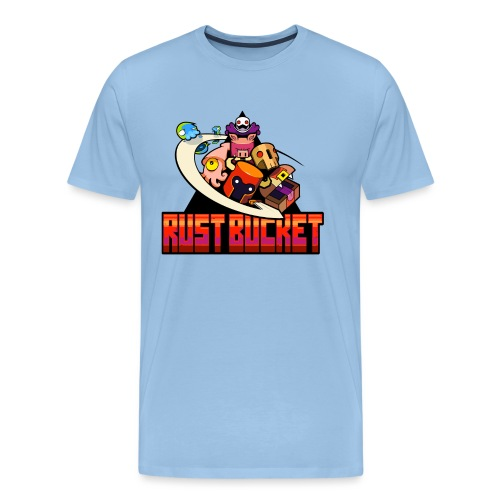rustbucket png - Men's Premium T-Shirt