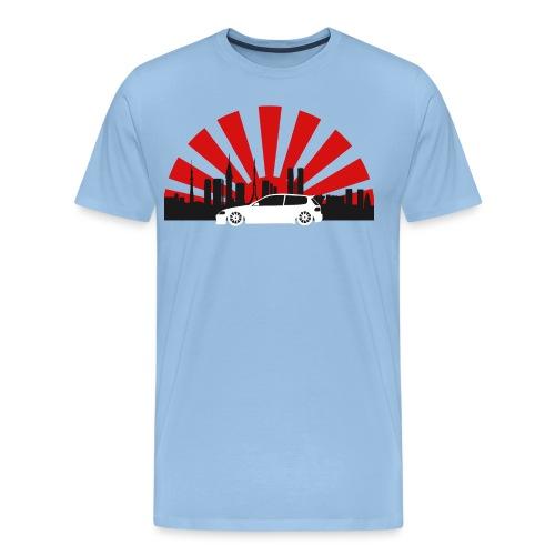 Tokio EG Hatch-01 - Männer Premium T-Shirt