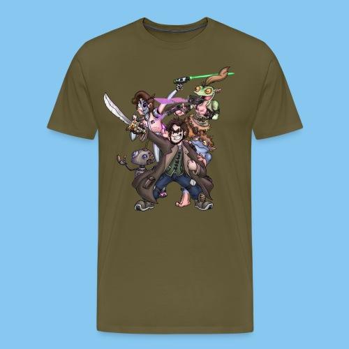 THE SQUAD png - Men's Premium T-Shirt