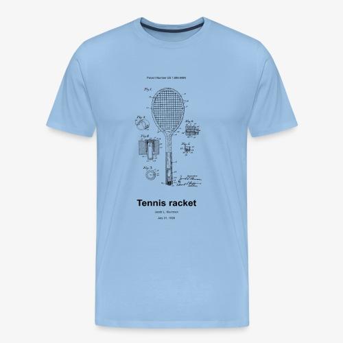 Tennis racket - Männer Premium T-Shirt