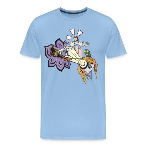 Spring Doodle - Mannen Premium T-shirt