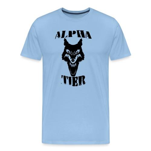 T- Shirt Alpha Tier - Männer Premium T-Shirt
