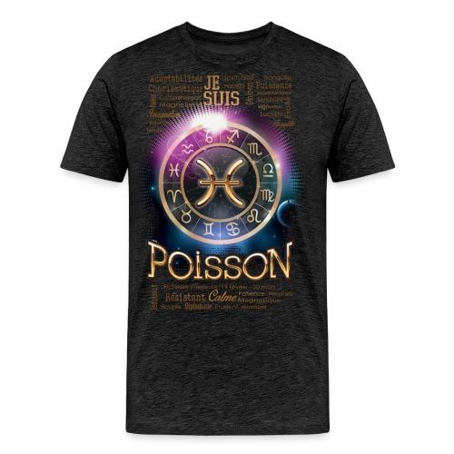 POISSONS - T-shirt Premium Homme