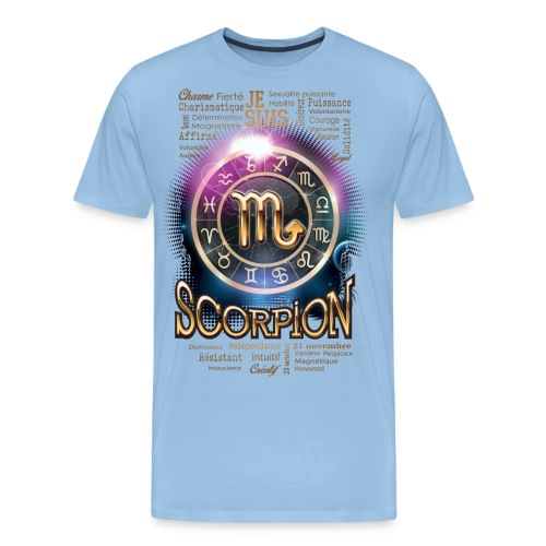 SCORPION - T-shirt Premium Homme
