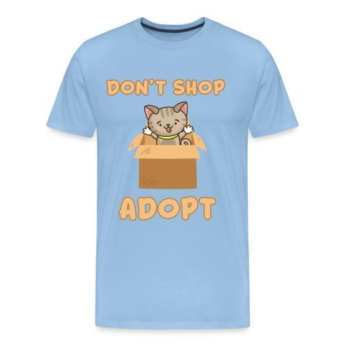 ADOBT DONT SHOP - Adoptieren statt kaufen - Männer Premium T-Shirt