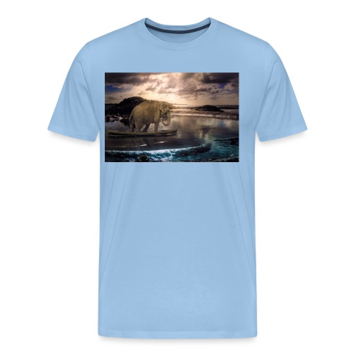 Set adrift on memory blis - Men's Premium T-Shirt