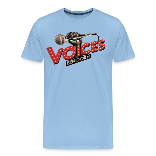 Voices Benidorm - Mannen Premium T-shirt