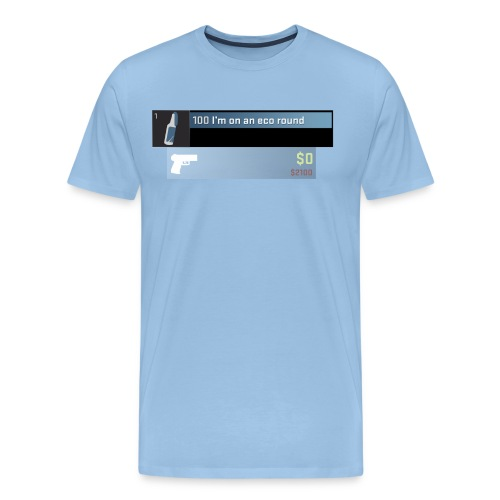 eco round design p250 png - Men's Premium T-Shirt