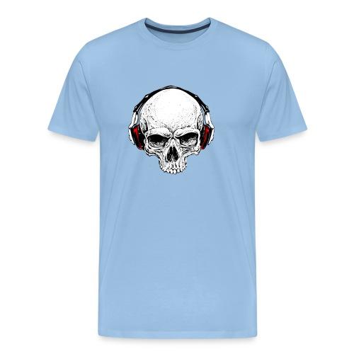 music skull - Maglietta Premium da uomo