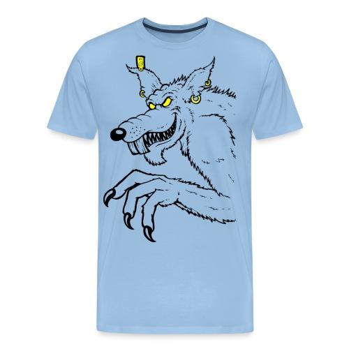 Monster Ratte - Männer Premium T-Shirt