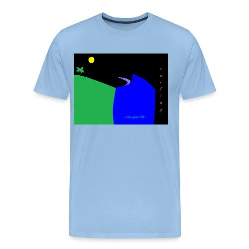 mateo - Camiseta premium hombre