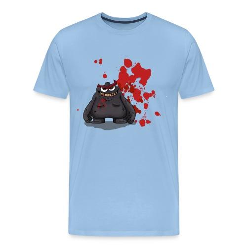 evil png png - Men's Premium T-Shirt