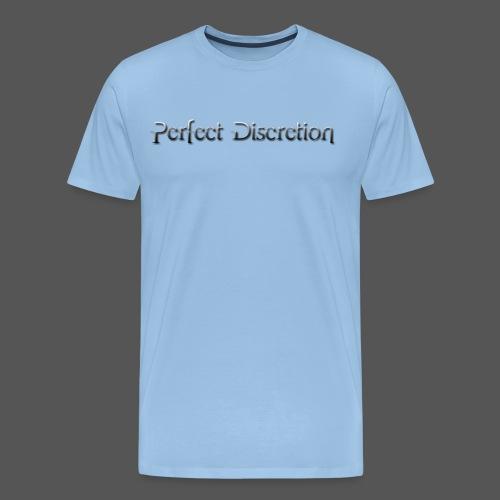 Perfect Discretion - Männer Premium T-Shirt