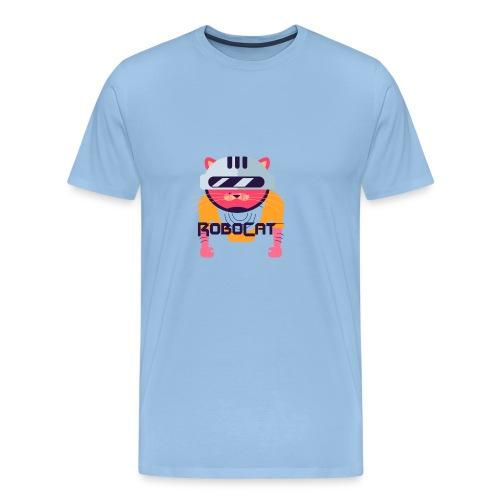 Robocat Tees - Men's Premium T-Shirt
