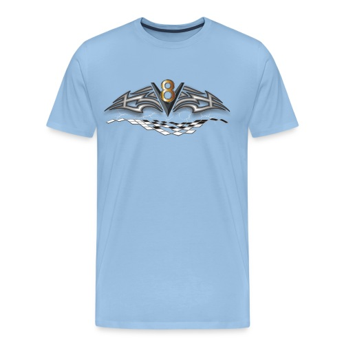 V8 Logo - Männer Premium T-Shirt