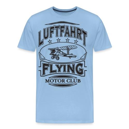 Luftfahrt Flieger Motor Club - Männer Premium T-Shirt