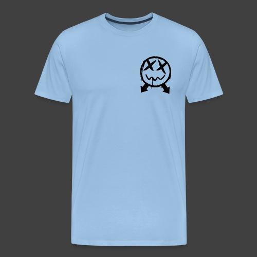 logoschwarz - Männer Premium T-Shirt