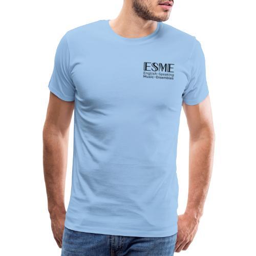 ESME Logo Schwartz - Männer Premium T-Shirt